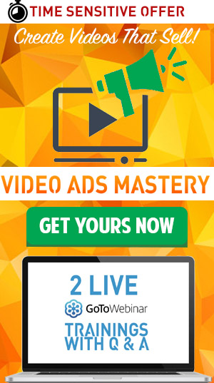 Get Video Ads Mastery Course